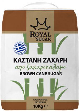 Καστανή ζάχαρη Royal Sugar 10Kg