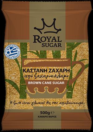 Καστανή ζάχαρη Royal Sugar 500g