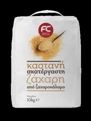 FC Καστανή Ζάχαρη 10Kg