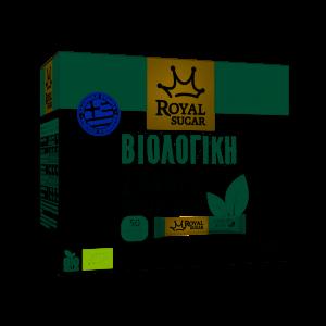 Μερίδες Βιολογικής Ζάχαρης-50 Sticks των 4gr Royal Sugar