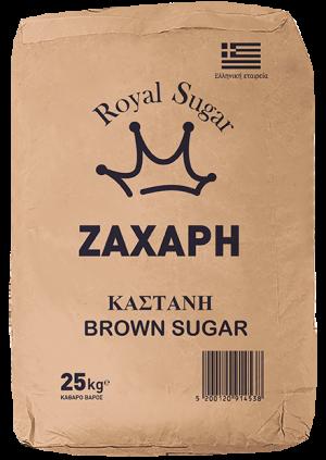 Καστανή Ζάχαρη 25Kg Royal Sugar