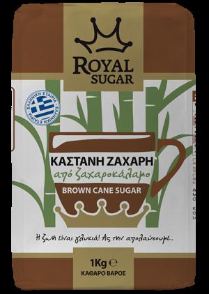 Καστανή Ζάχαρη Royal Sugar