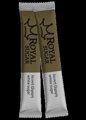 Μερίδες Λευκής Ζάχαρης – Sticks 5gr Royal Sugar